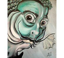 Salvador Dali (as a fish) Photographic Print