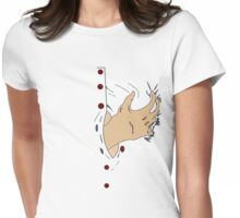 Hands off Womens Fitted T-Shirt