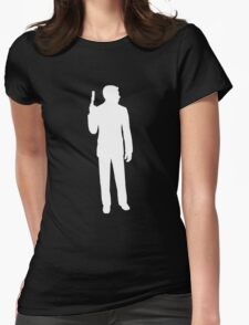 archer silhouette Womens Fitted T-Shirt