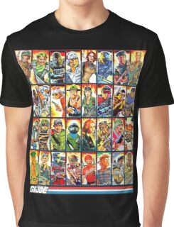 G.I. Joe in the 80s! Graphic T-Shirt