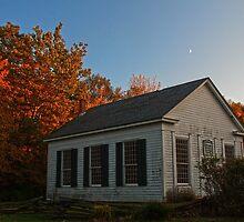 Millbrook Village in Autumn by Debra Fedchin