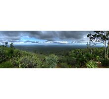 Mt Dale, View from the top, panorama HDR Photographic Print