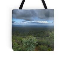 Mt Dale, View from the top, panorama HDR Tote Bag