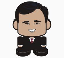 Rick Santorum Politico'bot Toy Robot 1.0 One Piece - Long Sleeve