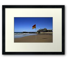 Currumbin Beach Surf Club Elephant Rock Framed Print