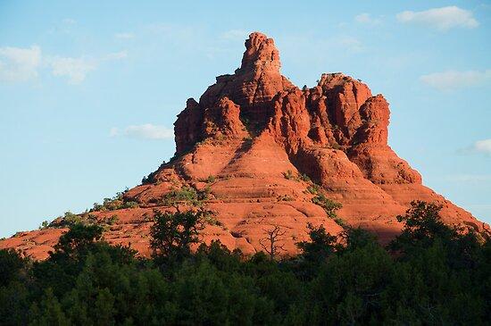 Bell Rock Sedona  by John  Kapusta