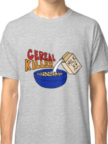Cereal Killer, Funny Breakfast Food Shirt Classic T-Shirt