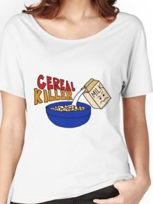 Cereal Killer, Funny Breakfast Food Shirt Women's Relaxed Fit T-Shirt