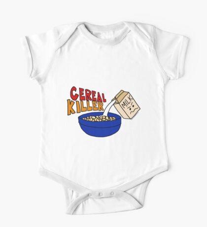 Cereal Killer, Funny Breakfast Food Shirt One Piece - Short Sleeve