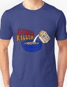 Cereal Killer, Funny Breakfast Food Shirt Unisex T-Shirt