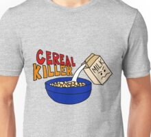 Cereal Killer, Funny Breakfast Food Shirt Unisex T-Shirt