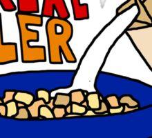 Cereal Killer, Funny Breakfast Food Shirt Sticker