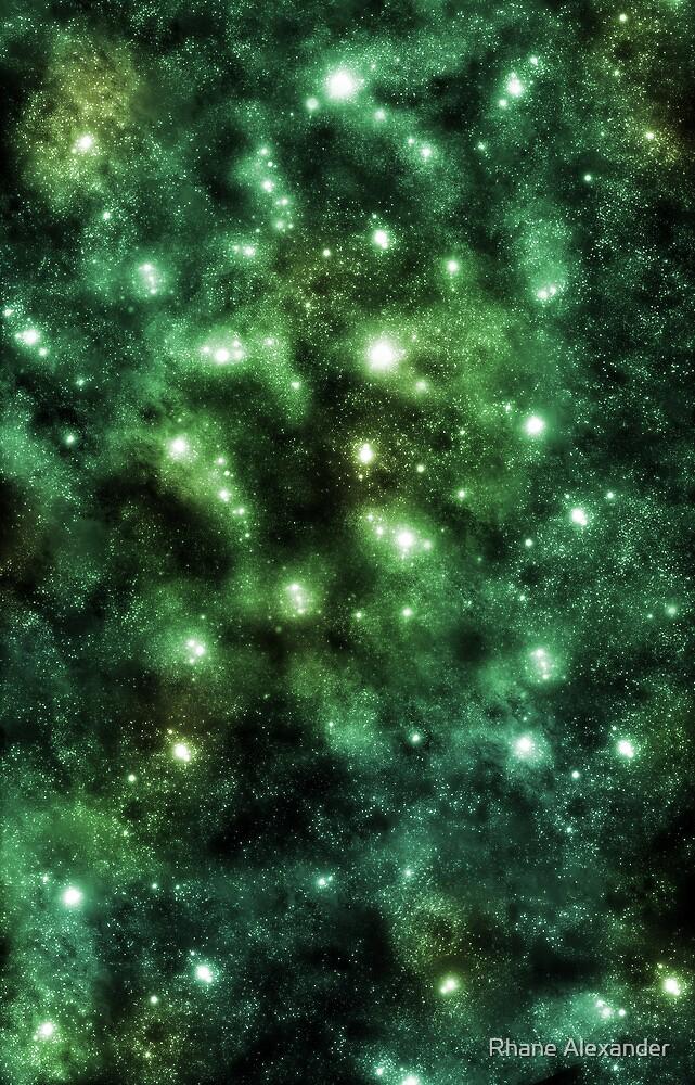 Emerald Astronomy by rhaneysaurus