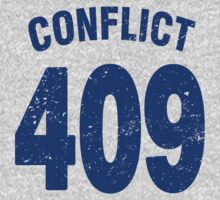 Team shirt - 409 Conflict, blue letters Kids Clothes