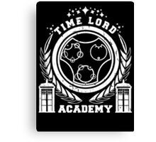 time lord academy Canvas Print