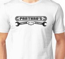 Pantrho's Parts and Service (black) Unisex T-Shirt