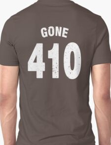 Team shirt - 410 Gone, white letters T-Shirt