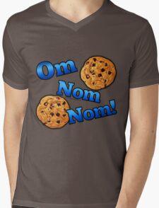 Om Nom Nom, Yummy Cookies Mens V-Neck T-Shirt