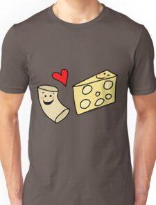 Cute Macaroni and Cheese Love Unisex T-Shirt