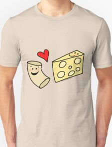Cute Macaroni and Cheese Love T-Shirt