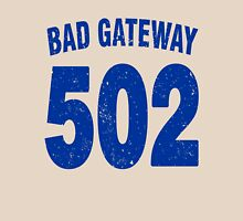 Team shirt - 502 Bad Gateway, blue letters Unisex T-Shirt