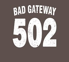 Team shirt - 502 Bad Gateway, white letters Unisex T-Shirt