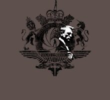50th Anniversary James Bond Tee_Grunge effect Unisex T-Shirt