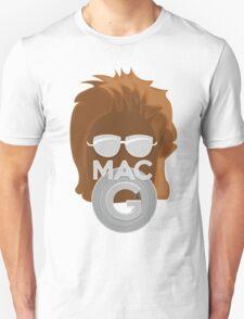 Vector MacGyver Hair Unisex T-Shirt