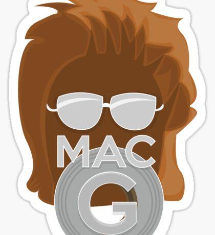 Vector MacGyver Hair Sticker