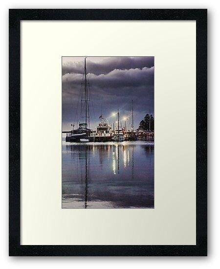 Port Albert Marina by Jennifer Craker