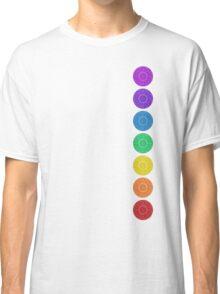 seven chakra circles Classic T-Shirt