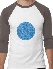 blue throat chakra Men's Baseball ¾ T-Shirt