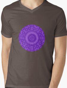 indigo third eye chakra Mens V-Neck T-Shirt