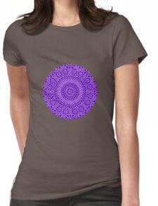 indigo third eye chakra Womens Fitted T-Shirt
