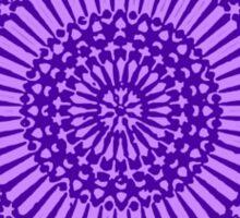 indigo third eye chakra Sticker