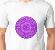 purple crown chakra Unisex T-Shirt