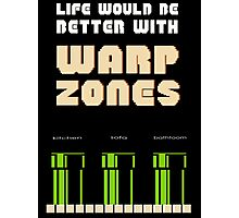 warp zone  Photographic Print