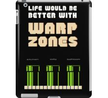 warp zone  iPad Case/Skin