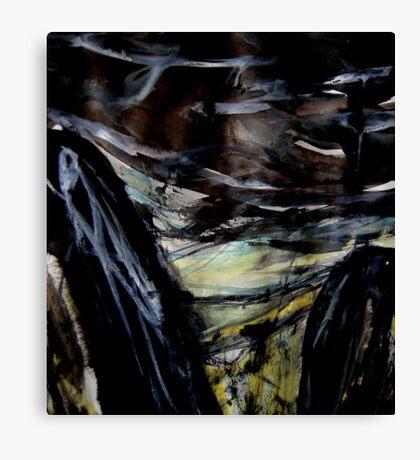 storm over the plains.... Canvas Print