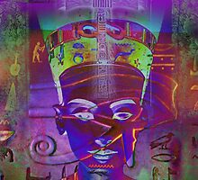 Nefertiti_Ankh in Violet by AnkhaDesh