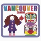 Curly Orli Totem T-Shirt - Vancouver, Canada by curlyorli