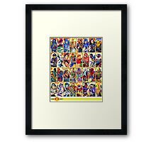 G.I. Joe in the 80s!  Cobra Edition! Framed Print
