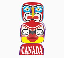Canada Red Totem Unisex T-Shirt