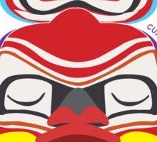 Canada Red Totem Sticker