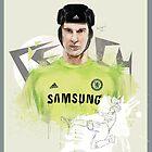 Petr Cech by Nick Symeou