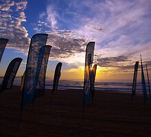 Surf competition Banners by geophotographic