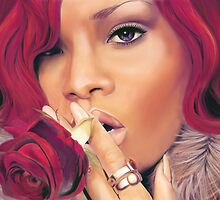 Rihanna by Nick Symeou