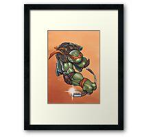 Michelangelo - TMNT Framed Print