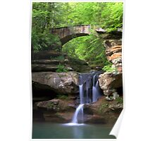 Springtime at Upper Falls Poster