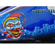 Harley Davidson Live To Ride,Ride to Live Photographic Print
